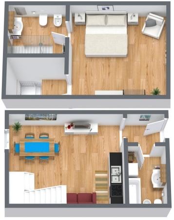 Planimétrie Appartement N.169