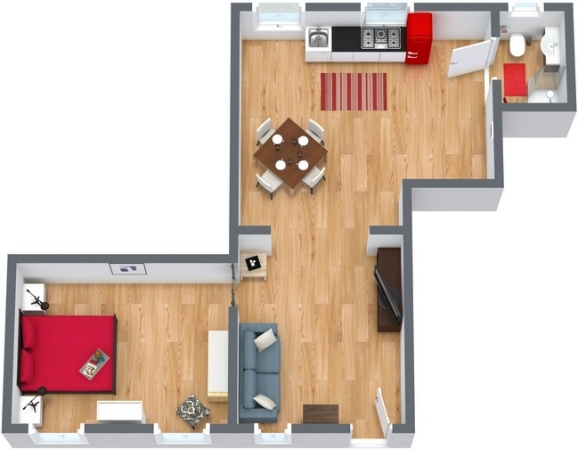 Planimétrie Appartement N.173