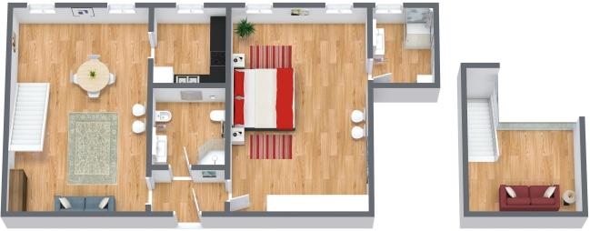 Planimétrie Appartement N.174