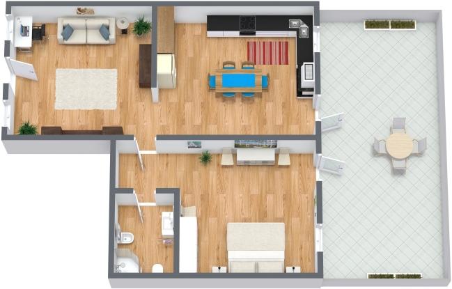 Planimétrie Appartement N.178