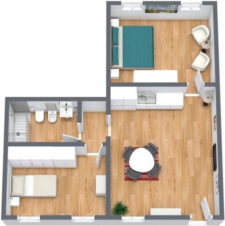 Planimétrie Appartement N.180