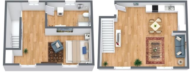 Planimétrie Appartement N.184