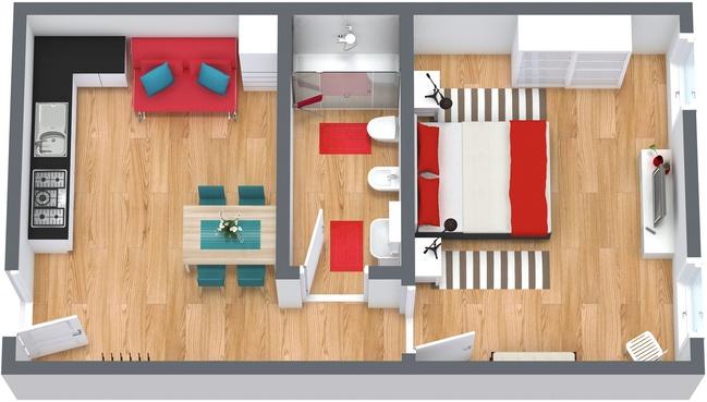 Planimétrie Appartement N.185