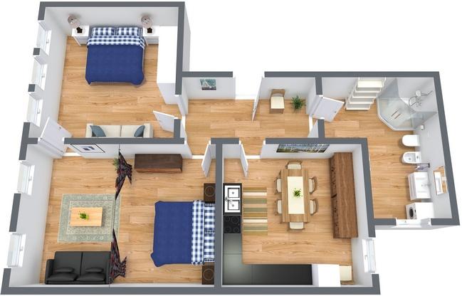 Planimétrie Appartement N.188