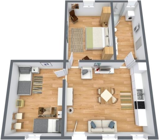 Planimétrie Appartement N.189