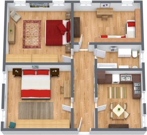Planimétrie Appartement N.190