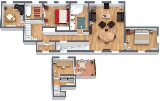 Planimétrie Appartement N.192