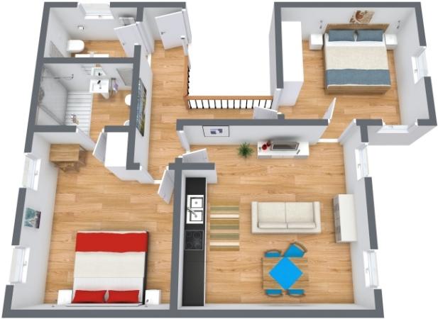 Planimétrie Appartement N.197