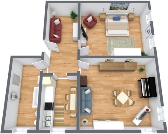 Planimétrie Appartement N.199