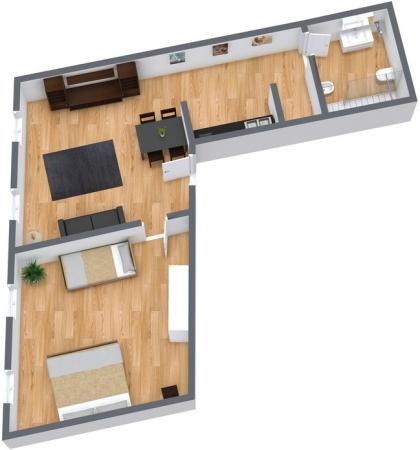 Planimétrie Appartement N.21