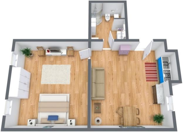Planimétrie Appartement N.213