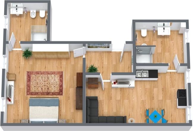 Planimétrie Appartement N.218
