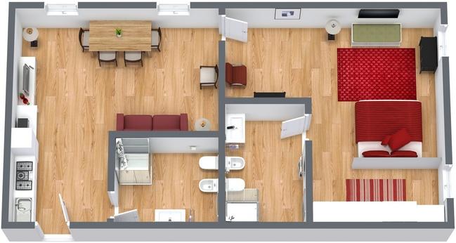 Planimétrie Appartement N.223