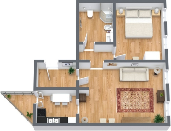 Planimétrie Appartement N.230