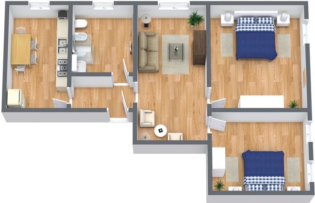 Planimétrie Appartement N.237