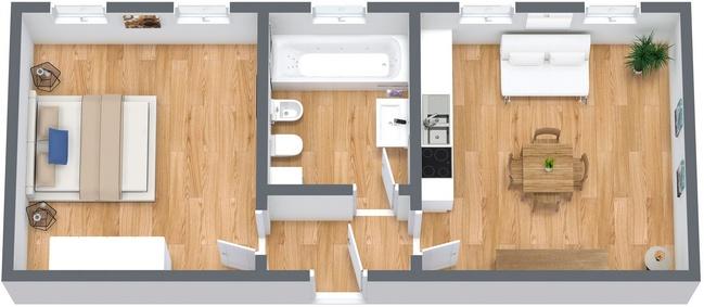 Planimétrie Appartement N.238