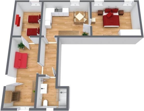 Planimétrie Appartement N.242