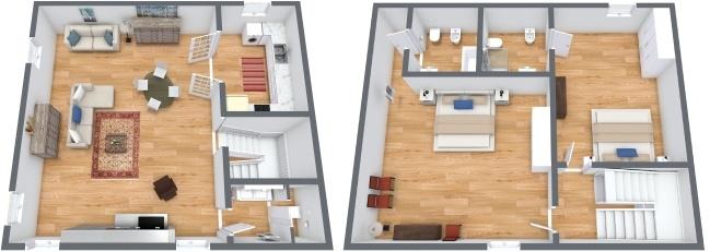 Planimétrie Appartement N.245
