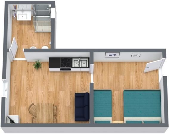 Planimétrie Appartement N.246