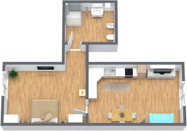 Planimétrie Appartement N.265