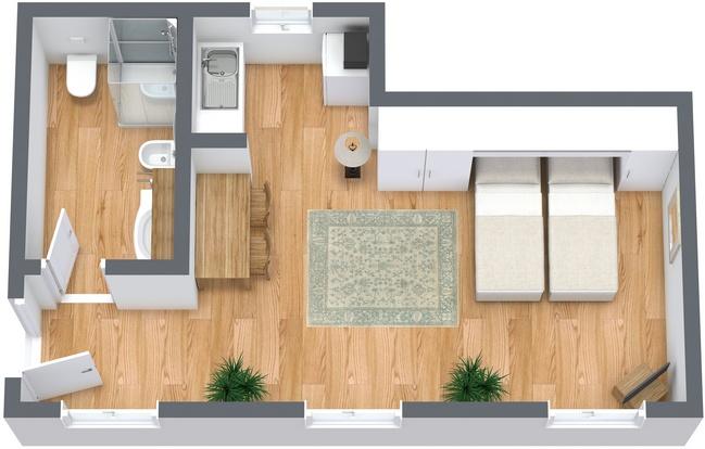 Planimétrie Appartement N.268
