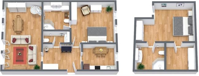 Planimétrie Appartement N.271