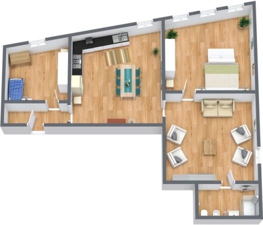 Planimétrie Appartement N.278
