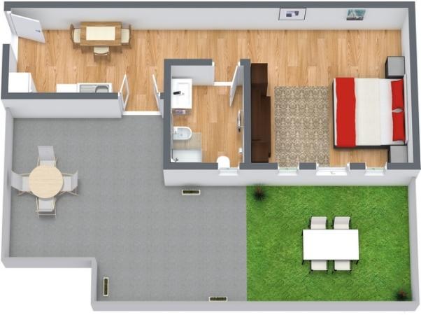 Planimétrie Appartement N.28