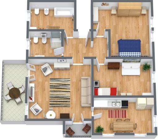 Planimétrie Appartement N.288