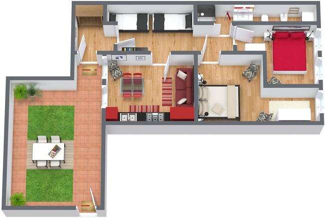 Planimétrie Appartement N.29