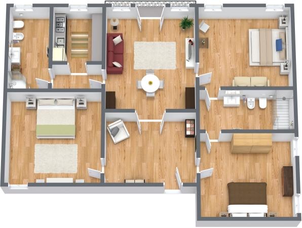 Planimétrie Appartement N.293
