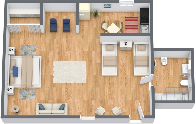 Planimétrie Appartement N.299