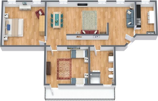 Planimétrie Appartement N.303