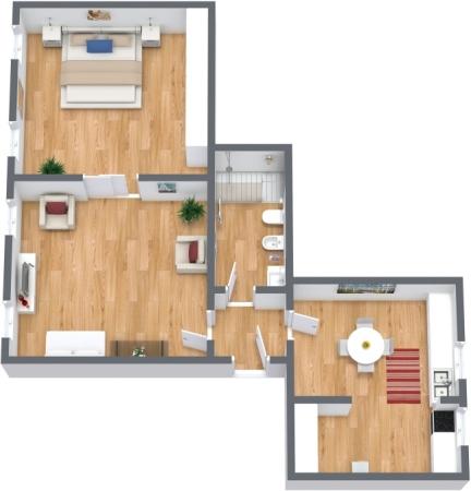 Planimétrie Appartement N.308