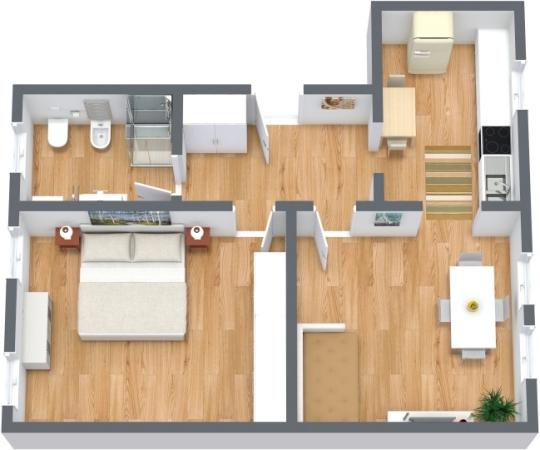 Planimétrie Appartement N.314