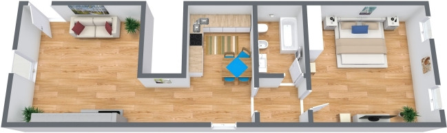 Planimétrie Appartement N.316