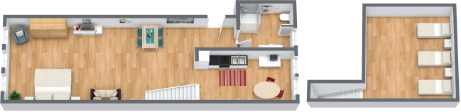 Planimétrie Appartement N.320