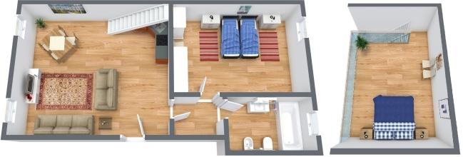 Planimétrie Appartement N.322