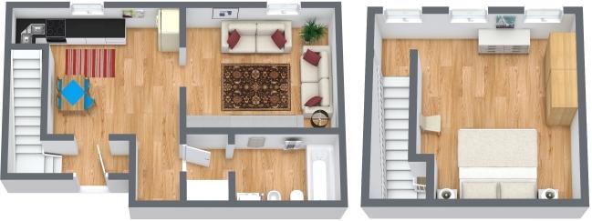 Planimétrie Appartement N.324