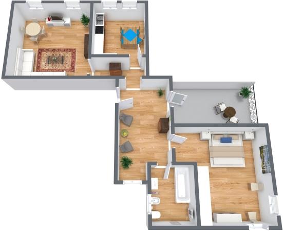 Planimétrie Appartement N.325