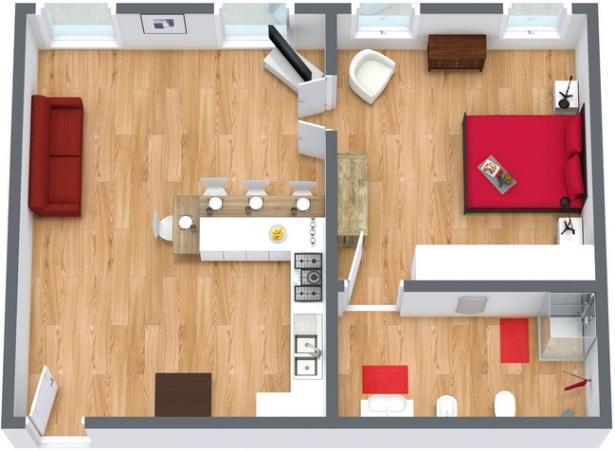 Planimétrie Appartement N.33