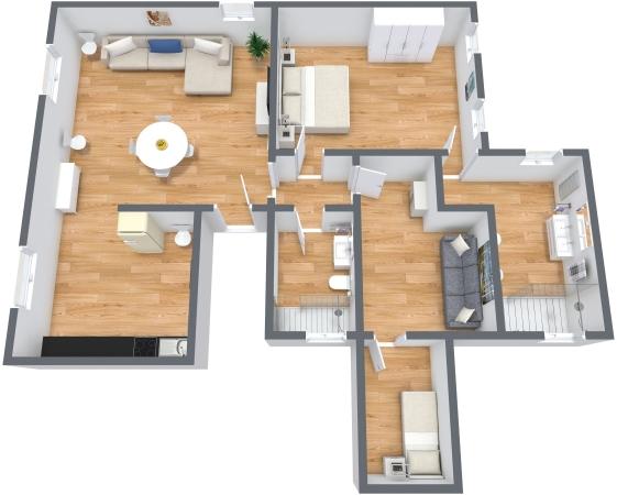 Planimétrie Appartement N.338