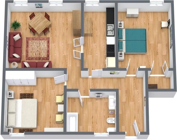 Planimétrie Appartement N.340
