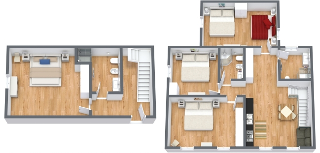Planimétrie Appartement N.342