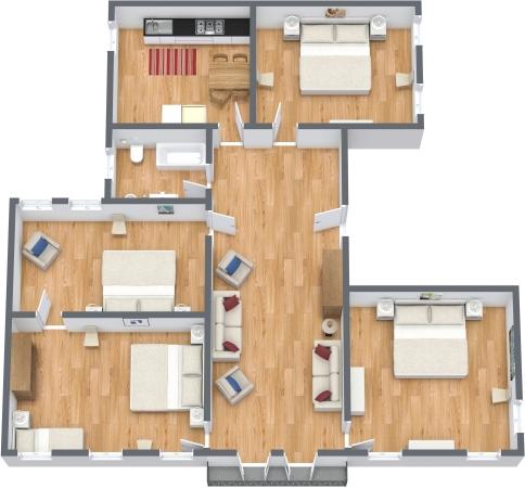 Planimétrie Appartement N.345