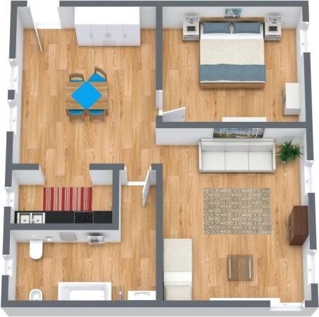 Planimétrie Appartement N.349