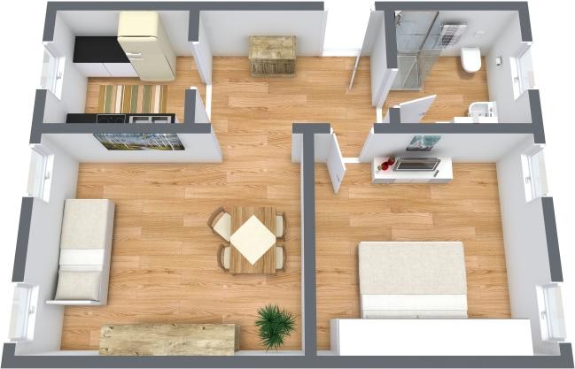 Planimétrie Appartement N.354