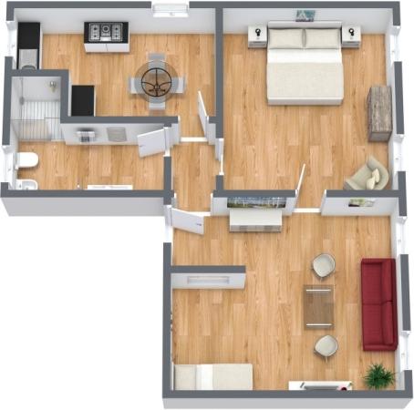 Planimétrie Appartement N.356