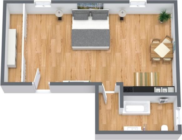 Planimétrie Appartement N.357