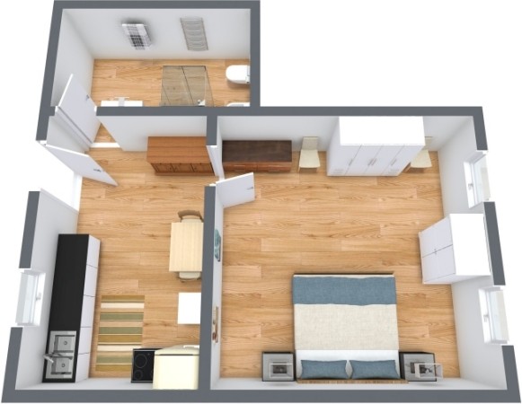 Planimétrie Appartement N.359